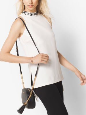 Embellished Ponte Tunic by Michael Kors