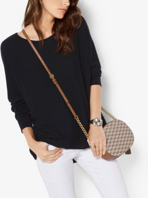 Cotton-Blend Sweater by Michael Kors