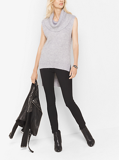 Mohair Cowl-Neck Sweater by Michael Kors