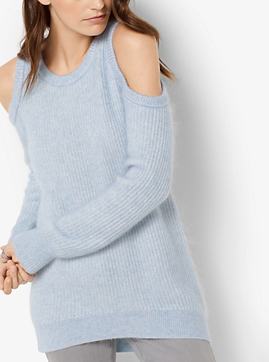 Pullover in misto lana con spalle scoperte by Michael Kors