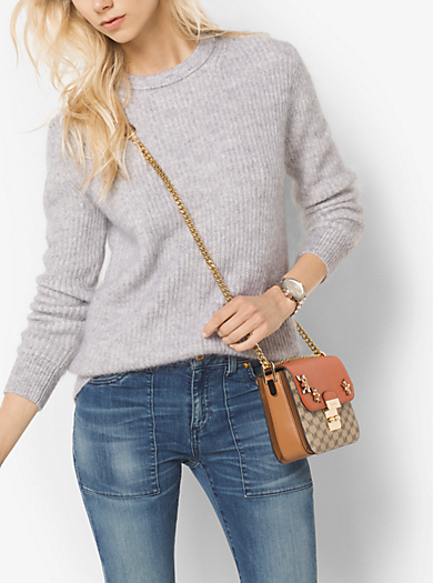 Mohair Ribbed Sweater by Michael Kors
