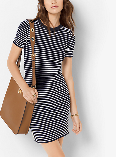 Abito t-shirt a righe by Michael Kors