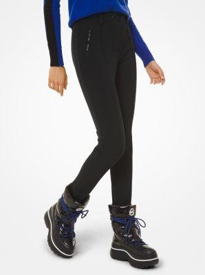 마이클 마이클 코어스 Michael Michael Kors Performance Nylon-Blend Stirrup Ski Pants,BLACK