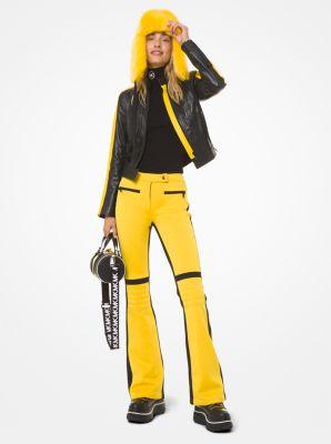 마이클 마이클 코어스 Michael Michael Kors Color-Block Ski Pants,BRIGHT DANDELION