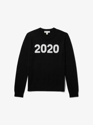 마이클 마이클 코어스 Michael Michael Kors 2020 Wool-and-Cashmere Sweater,BLACK