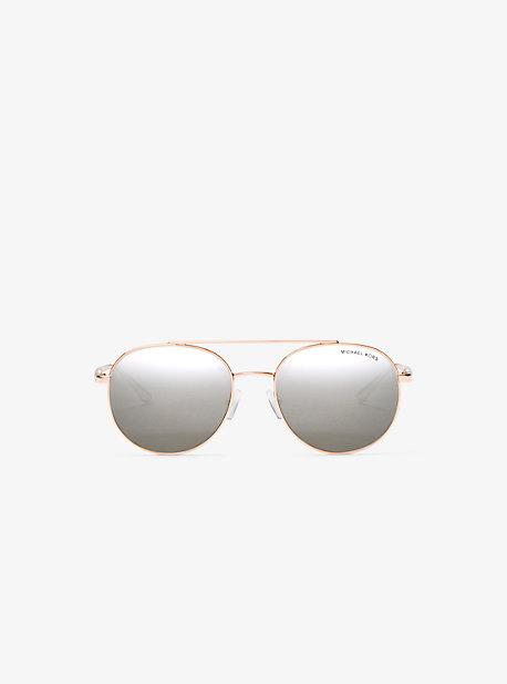 Lon Rounded Aviator Sunglasses