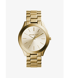 Slim Runway Gold-Tone Stainless Steel Watch