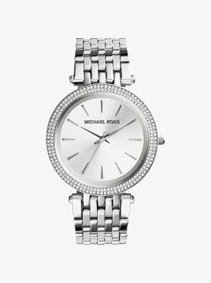 마이클 코어스 메탈 시계 Michael Kors Darci Silver-Tone Watch,SILVER