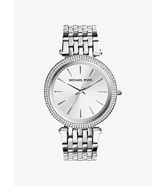 Darci Silver-Tone Stainless Steel Watch