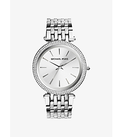 Darci Silver-Tone Watch by Michael Kors