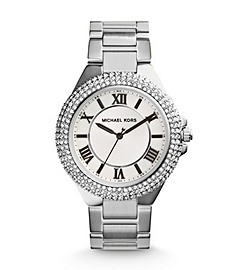 Camille Pavé-Embellished Silver-Tone Stainless Steel Watch