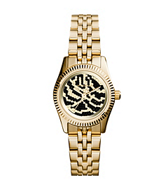 Petite Lexington Pavé-Embellished Zebra Watch