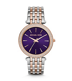 Darci Two-Tone Stainless Steel Watch