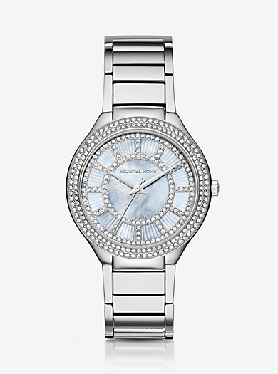 Kerry Silver-Tone Watch by Michael Kors
