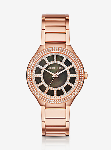 Kerry Rose Gold-Tone Watch by Michael Kors