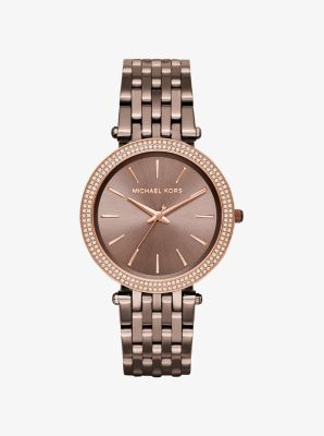 Darci Pavé Sable Watch by Michael Kors