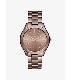 Slim Runway Sable-Tone Watch by Michael Kors
