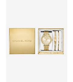 Darci Gold-Tone Gift Set by Michael Kors