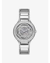 Kerry Pavé Silver-Tone Watch