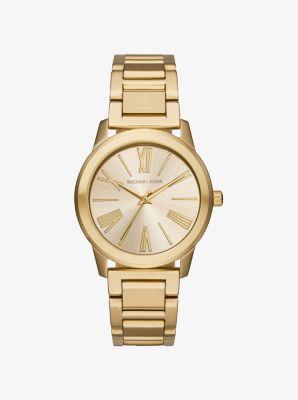 Hartman Gold-Tone Watch by Michael Kors