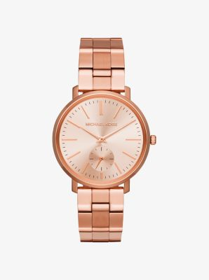 Jaryn Rose Gold-Tone Watch by Michael Kors