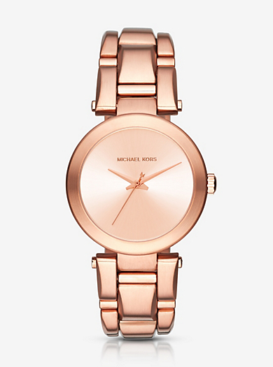 Delray Rose Gold-Tone Watch by Michael Kors