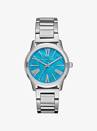 Hartman Silver-Tone Watch by Michael Kors
