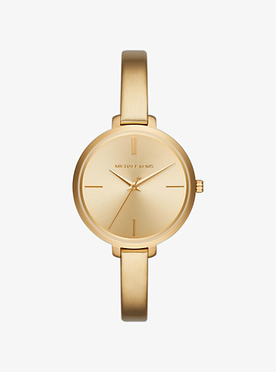 Jaryn Gold-Tone Watch by Michael Kors