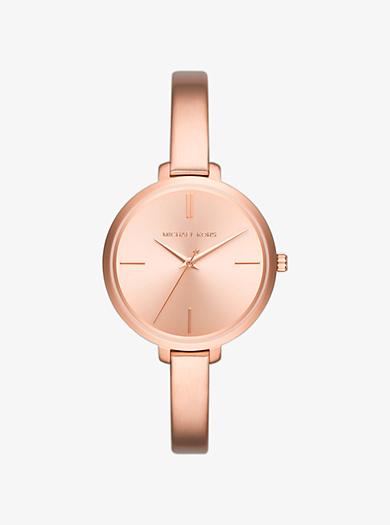 Jaryn Rose Gold-Tone Watch by Michael Kors