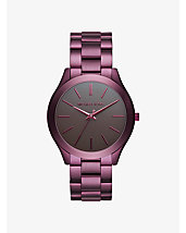 Slim Runway Plum-Tone Watch