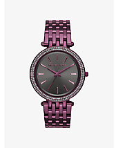 Darci Plum-Tone Watch
