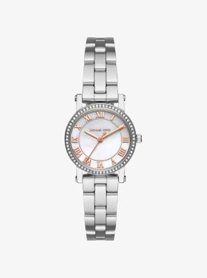 Petite Norie Silver-Tone Watch by Michael Kors