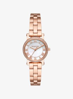 Petite Norie Rose Gold-Tone Watch by Michael Kors