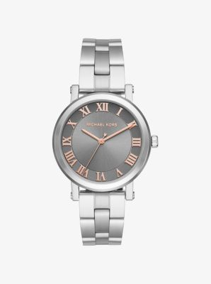 Norie Silver-Tone Watch by Michael Kors