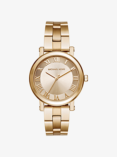 Norie Gold-Tone Watch by Michael Kors