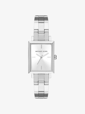 Harway Silver-Tone Watch by Michael Kors