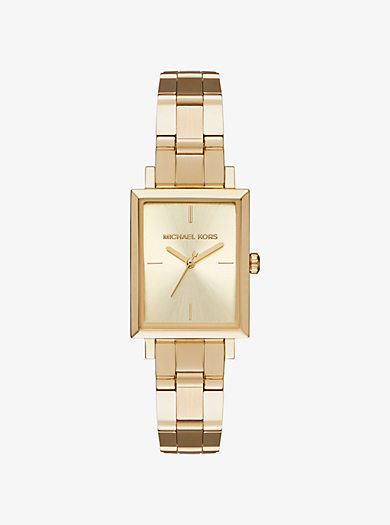Harway Gold-Tone Watch by Michael Kors