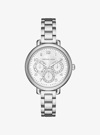 Kohen Silver-Tone Watch by Michael Kors