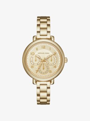Kohen Gold-Tone Watch by Michael Kors