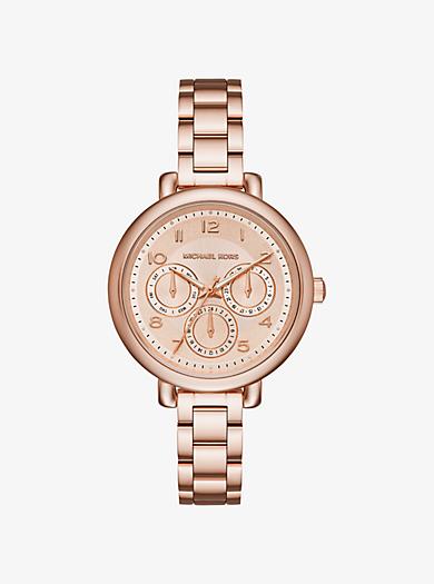 Kohen Rose Gold-Tone Watch by Michael Kors