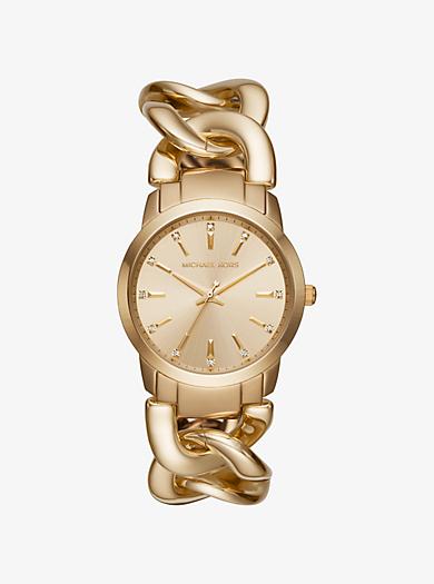 Elena Gold-Tone Watch by Michael Kors