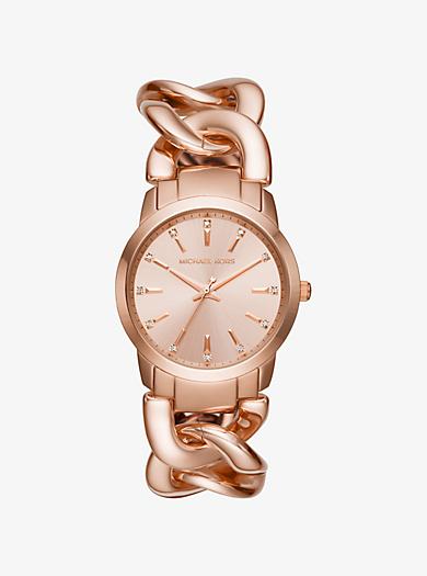 Elena Rose Gold-Tone Watch by Michael Kors