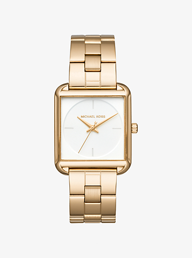Lake Gold-Tone Watch by Michael Kors
