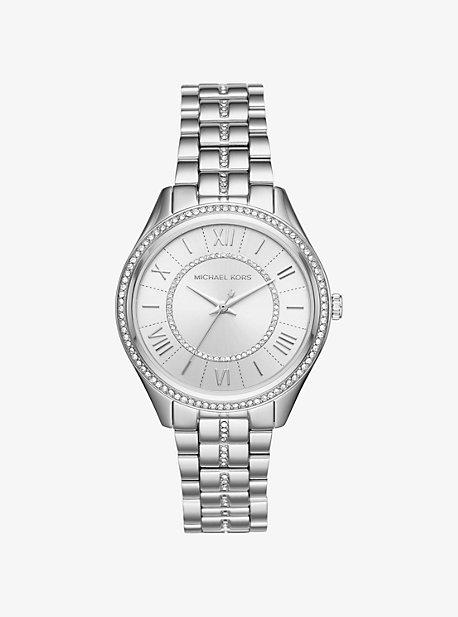 Lauryn Pave Silver-Tone Watch