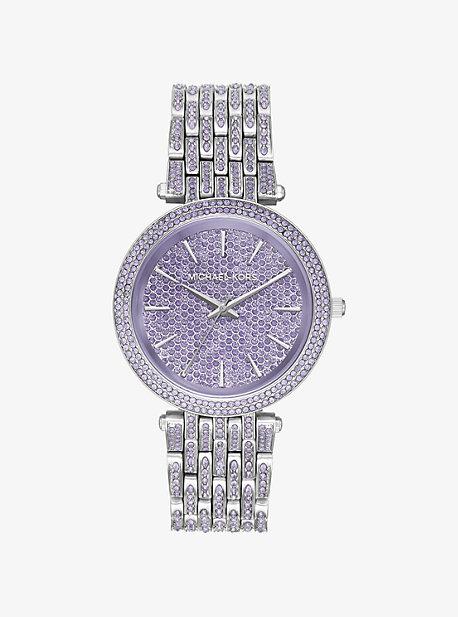 Darci Pave Silver-Tone Watch
