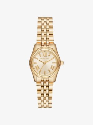 마이클 코어스 메탈 시계 Michael Kors Petite Lexington Gold-Tone Watch,GOLD