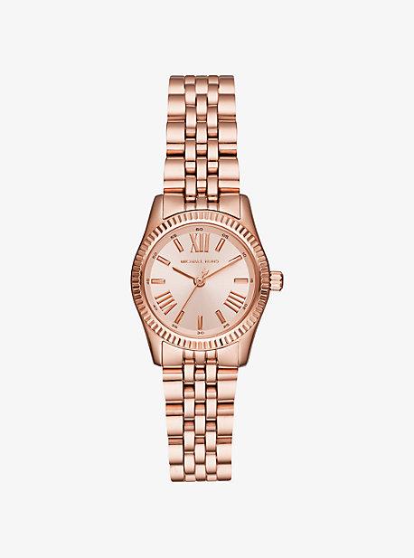 Petite Lexington Rose Gold-Tone Watch