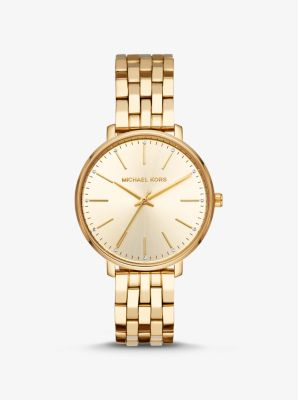 Michael Kors Pyper Gold-Tone Watch,GOLD