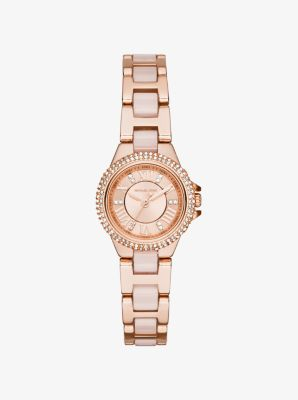 Petite Camille Rose Gold-Tone Watch by Michael Kors