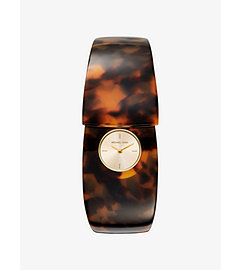 Wilkie Tortoise-Acetate and Gold-Tone Watch by Michael Kors